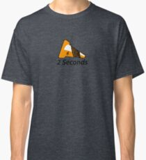 Shift Shirts Two Seconds – Autocross Racing Inspired Classic T-Shirt