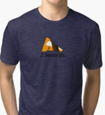 Shift Shirts Two Seconds – Autocross Racing Inspired Tri-blend T-Shirt