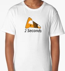Shift Shirts Two Seconds – Autocross Racing Inspired Long T-Shirt