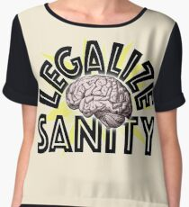 Legalize Sanity Chiffon Top