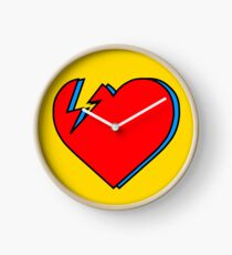 David Bowie - Lightning Heart Clock