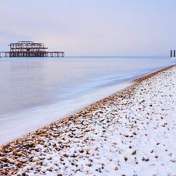 White Beaches of Brighton by chuckirina