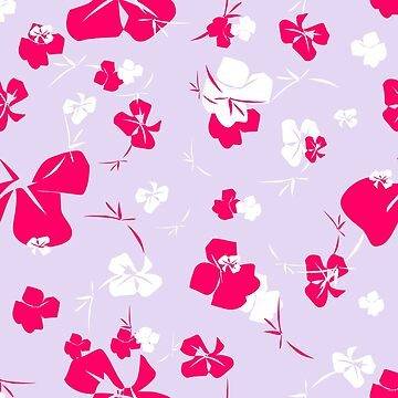 Blossoms in a Frenzy - Lilac Garden by 365Days