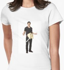 Fortune Cookie Costume Women's Fitted T-Shirt