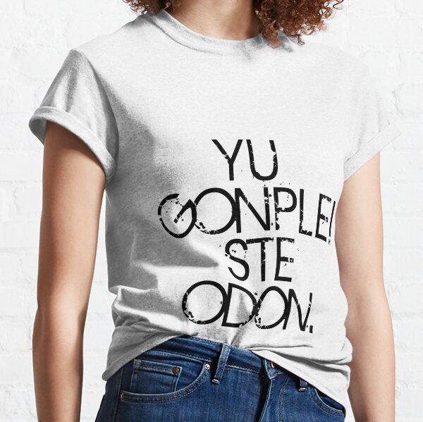 Votre combat est fini T-shirt classique