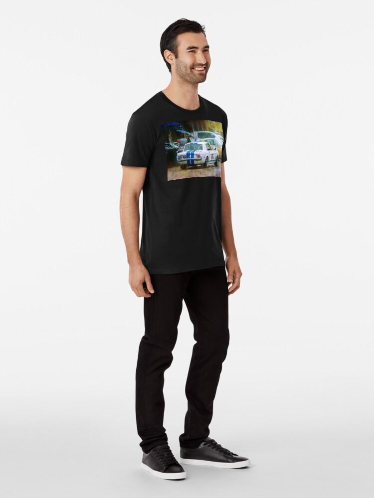 Alternate view of Mustang in the Paddock Premium T-Shirt