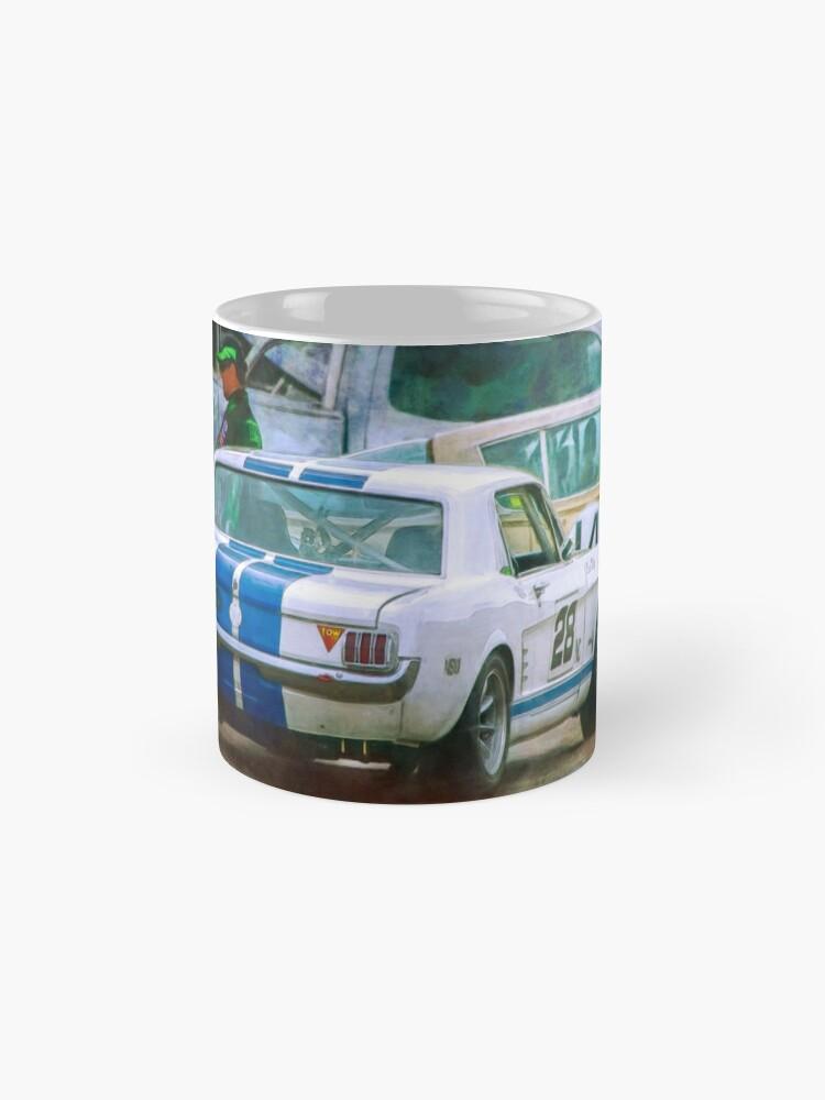 Alternate view of Mustang in the Paddock Mugs