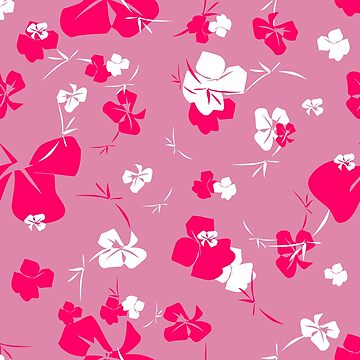Blossom in a Frenzy - Pink Garden by 365Days