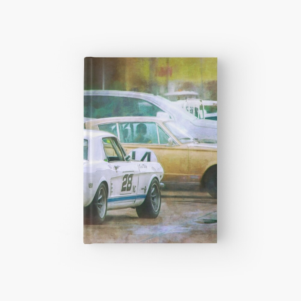 Mustang in the Paddock Hardcover Journal