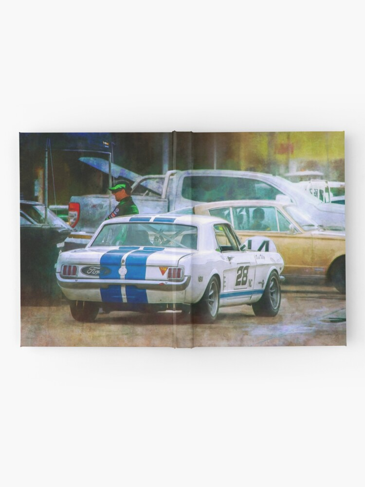 Alternate view of Mustang in the Paddock Hardcover Journal