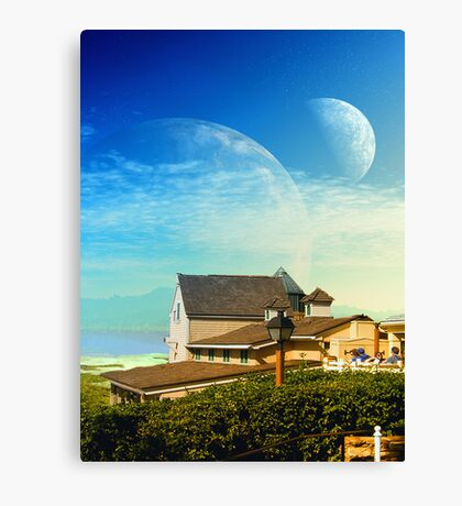 Galaxies End. Canvas Print