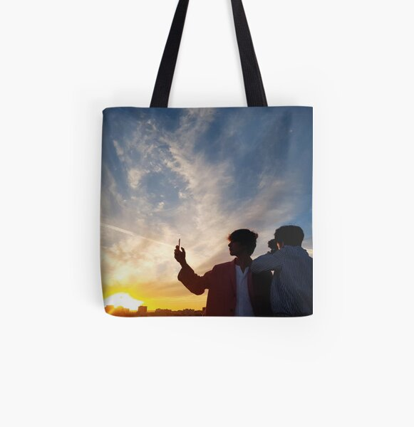 TAEKOOK 180304 All Over Print Tote Bag