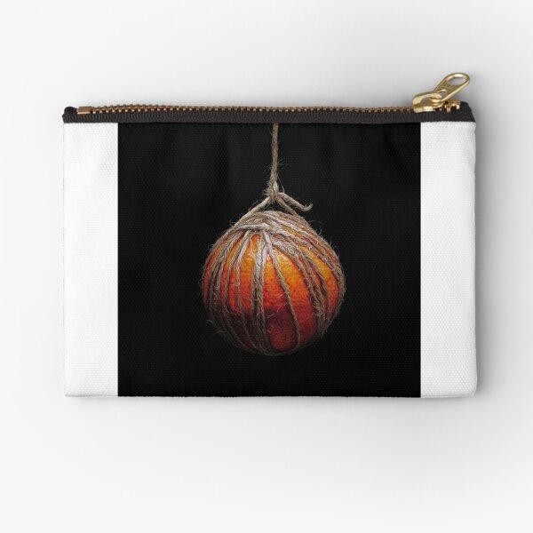 Hanging Fruit - orange Zipper Pouch