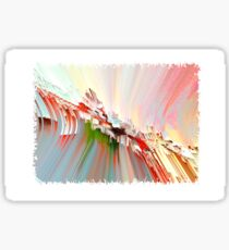Abstract pastel composition Sticker