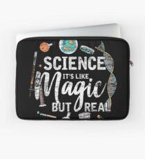 Science is like magic Laptop Sleeve