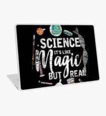 Science is like magic Laptop Skin