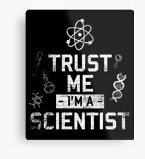 scientist Metal Print