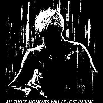 Blade Runner - Like Tears in Rain by Azrael