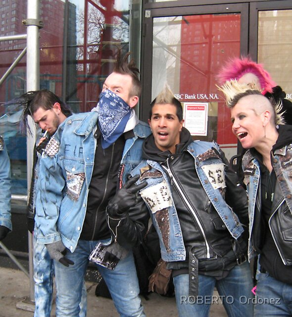 punks 2 by Robert Ordonez