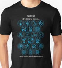Ingress Achievements Resistance Unisex T-Shirt