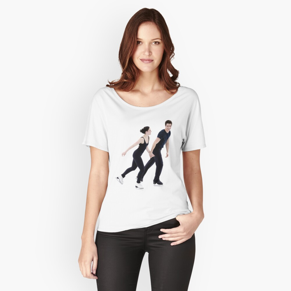 Tessa und Scott Loose Fit T-Shirt