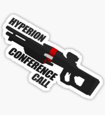 Hyperion Conference Call Vector Sticker