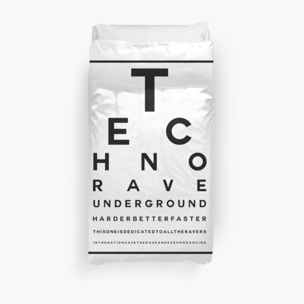 Techno Rave Visual Test #1 Bettbezug