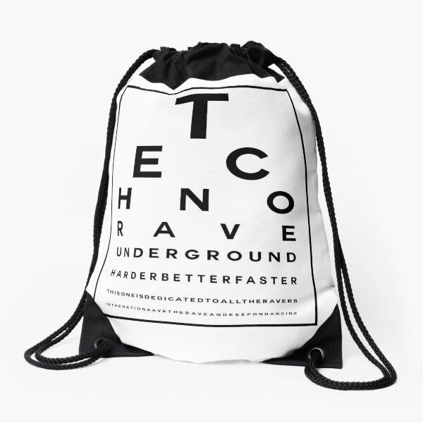 Techno Rave Visual Test #1 Turnbeutel