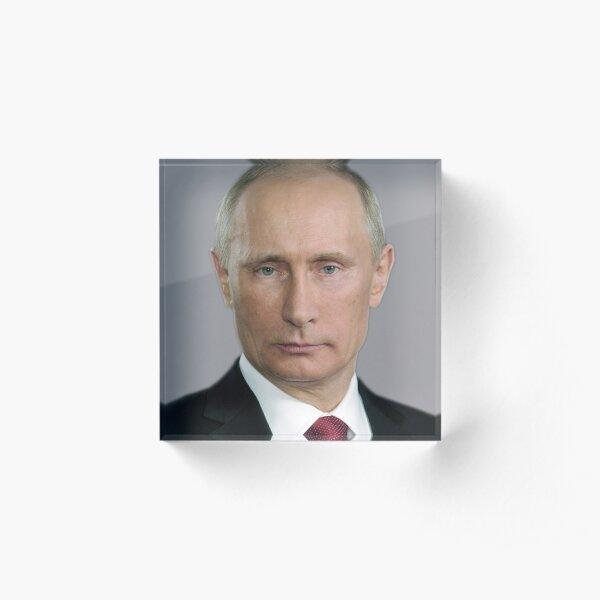 Vladimir Putin Russia  Acrylic Block