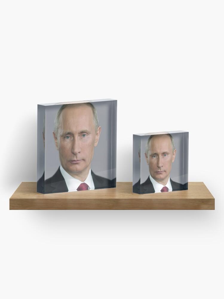Alternate view of Vladimir Putin Russia  Acrylic Block