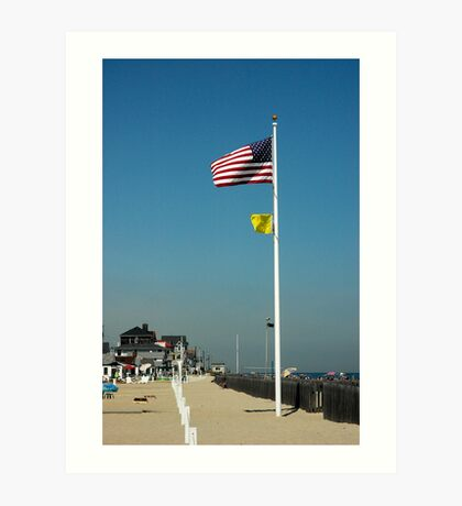 The Jersey Shore Art Print