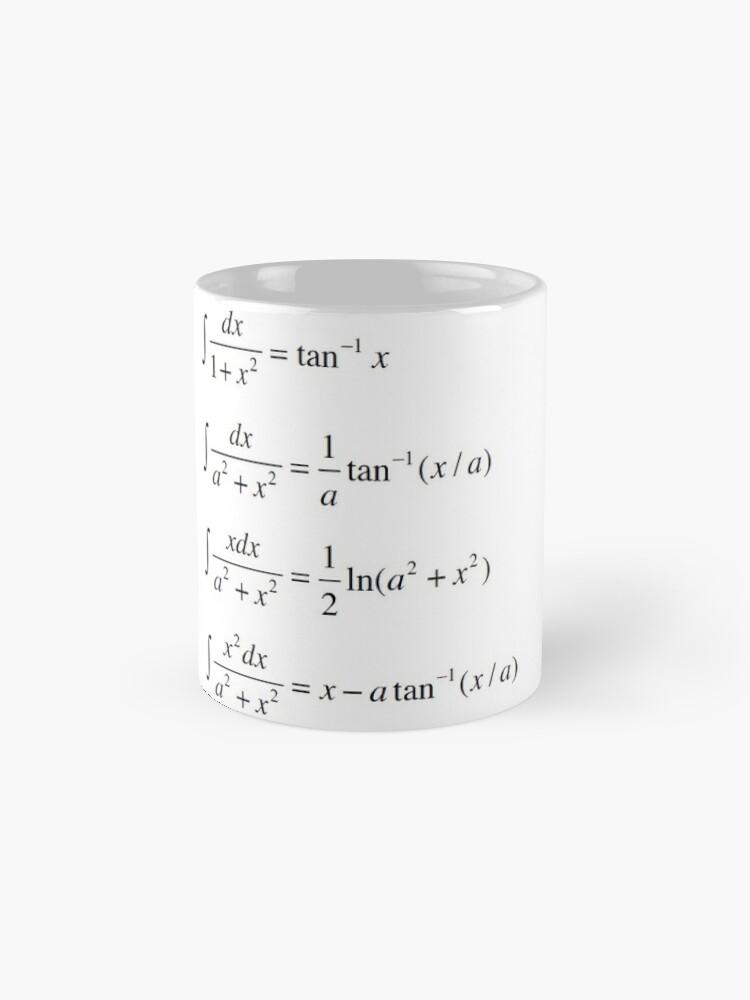 Alternate view of #Integrals #Math #Calculus #Mathematics Integral Function Equation Formula Mug