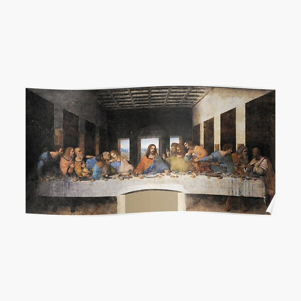The Last Supper Painting Poster