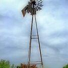 Old Historic Windmill by Glenna Walker