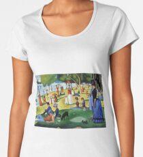 Sunday Afternoon On The Island Of La Grande Jatte  Women's Premium T-Shirt