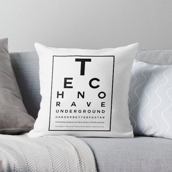 Techno Rave Visual Test #1 Dekokissen