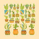 Desert Cactus Garden by challisandroos