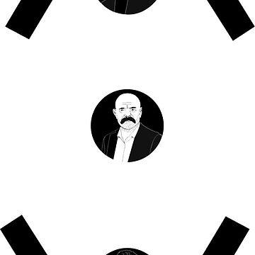 Cukur logo with Yamac, Idris Baba and Vartolu  by ersindesign