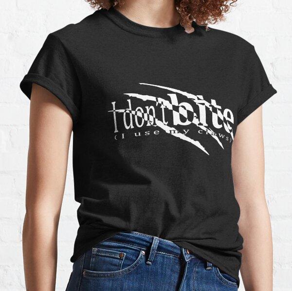 I don't bite (BW) Classic T-Shirt