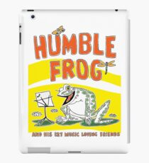 Humble Frog Book cover, Oliver Grimley Fine Art iPad Case/Skin