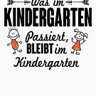 «Lo que sucede en el Kinder permanece en el Kindergarten» de nektarinchen
