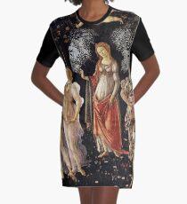 Primavera Botticelli Painting  Graphic T-Shirt Dress