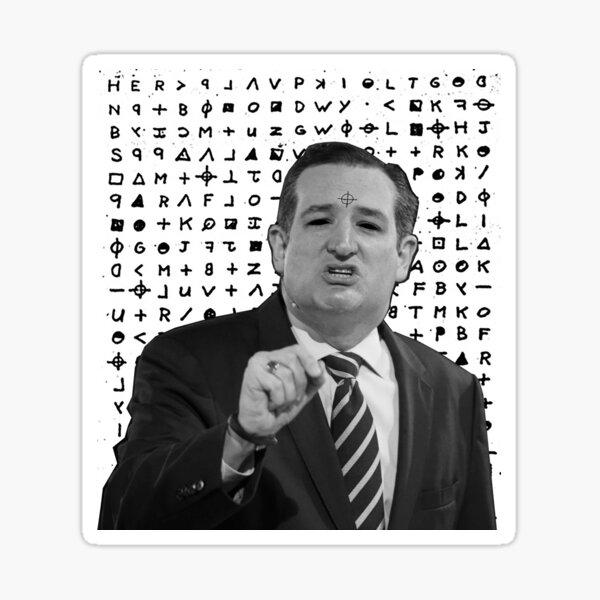 The Real Zodiac Killer Sticker
