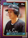 378 - Scott Fletcher by Foob's Baseball Cards