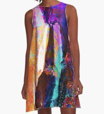 ABSTRACT NATURE // NEW ZEALAND A-Line Dress
