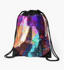 ABSTRACT NATURE // NEW ZEALAND Drawstring Bag
