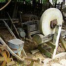 old farm tools by Sheila McCrea