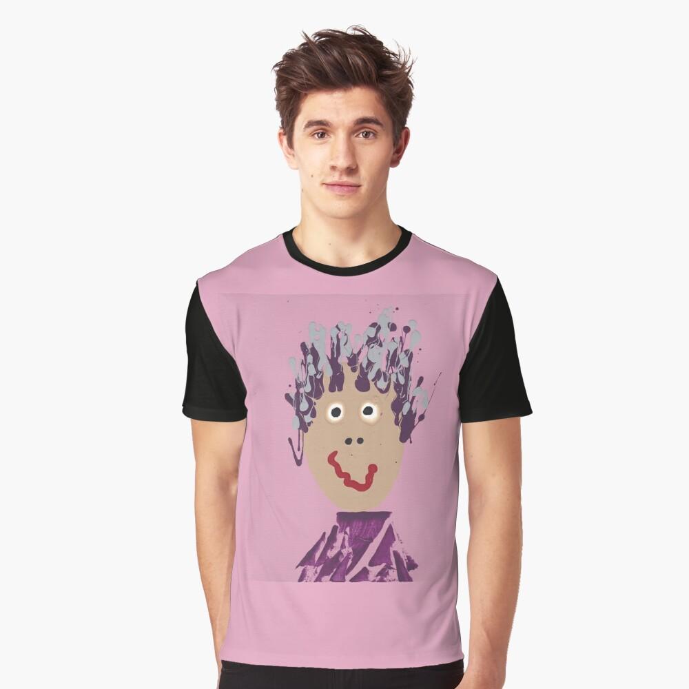 Devant T-shirt graphique ''Gigi - Martin Boisvert - Face à flaques'