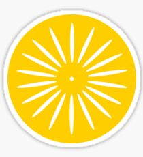 Terrace Sunburst Sticker