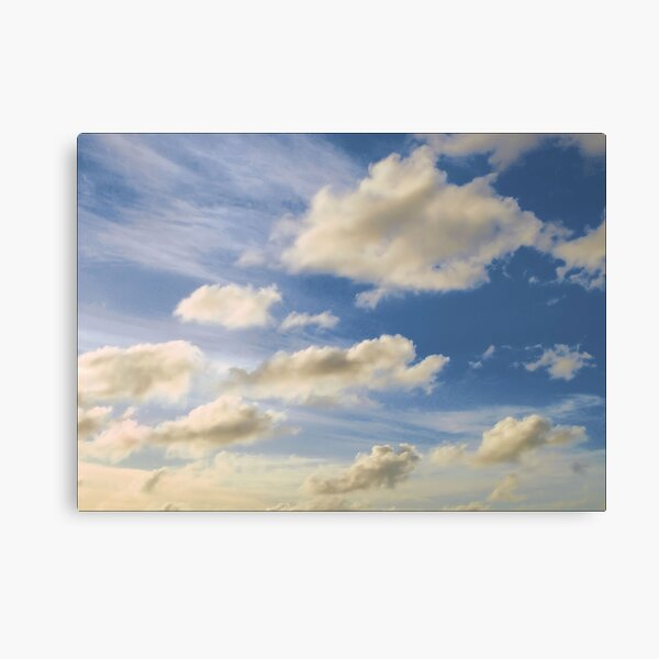 Late Day Sky Canvas Print